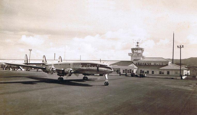 Een L-1049, vergelijkbaar toestel als dat van vlucht 739