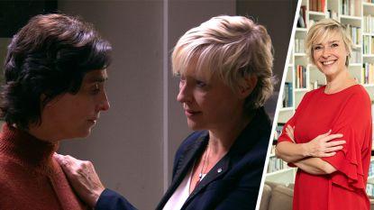 """Katrien De Becker speelt de lesbische Tania in 'Thuis': """"Mijn kinderen vinden het niet vreemd dat ik een vrouw kus"""""""