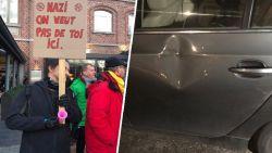 """Francken dient klacht in na grimmig protest Verviers, PS-burgemeester: """"Hebben het recht te betogen tegen extremist"""""""
