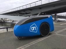 Albert Heijn test bezorgrobot in Eindhoven
