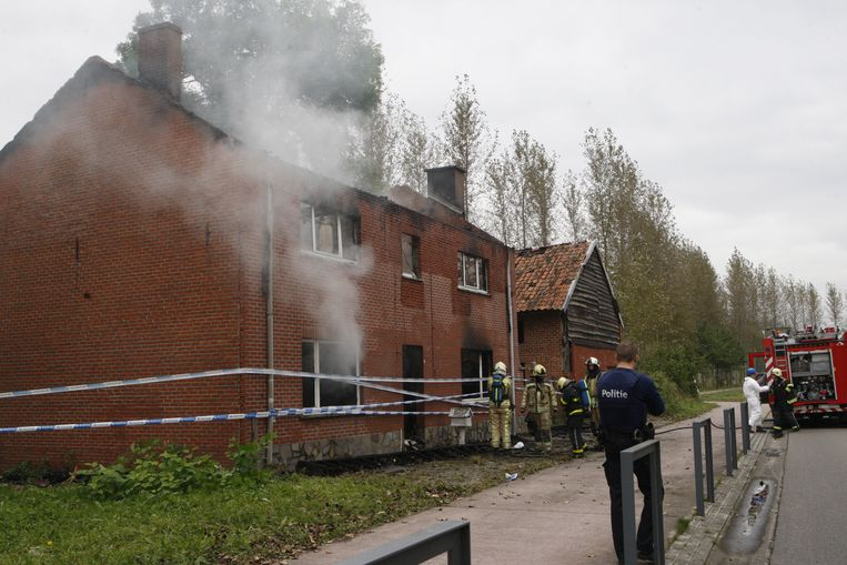 Het huis werd in oktober 2016 volledig verwoest door de brand.