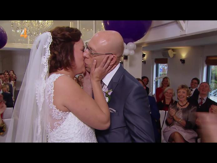 Still uit het programma 'Married at first sight'