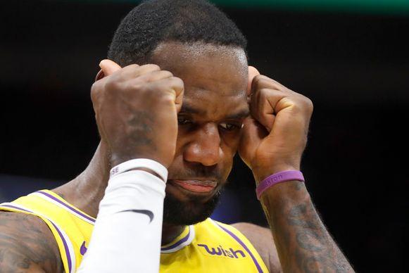LeBron James was opnieuw goed voor een triple-double.