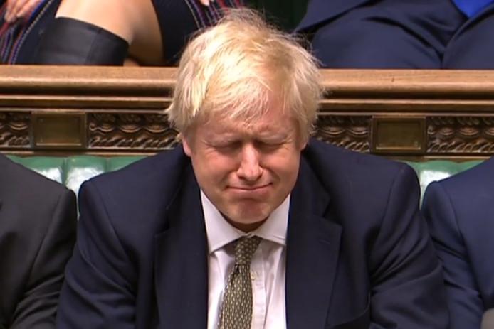 Het Britse Lagerhuis zet de seinen op groen voor Johnson.