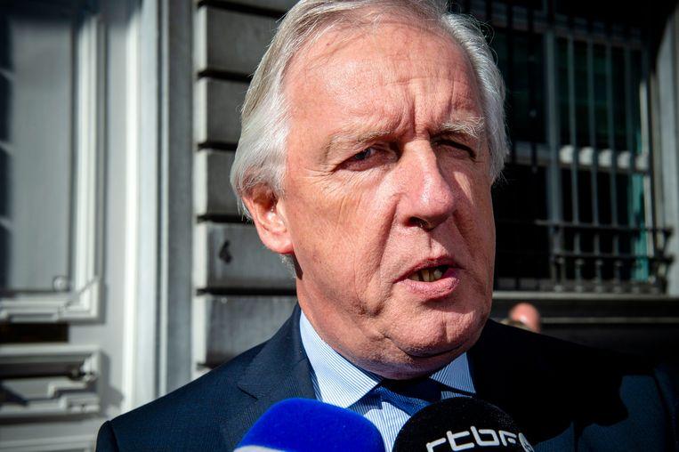 Pensioenminister Daniel Bacquelaine. Zijn wetsontwerp krijgt een negatief advies.