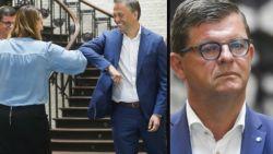 Lachaert overtuigend verkozen tot nieuwe voorzitter Open Vld, Tommelein met 30 procent zichtbaar ontgoocheld