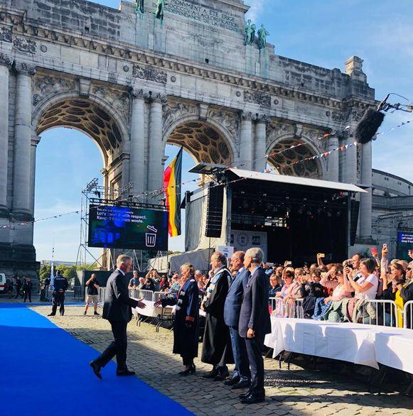 Academische Opening aan Jubelpark