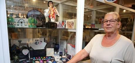 Elvis na 40 jaar nog springlevend in het museum van Renée
