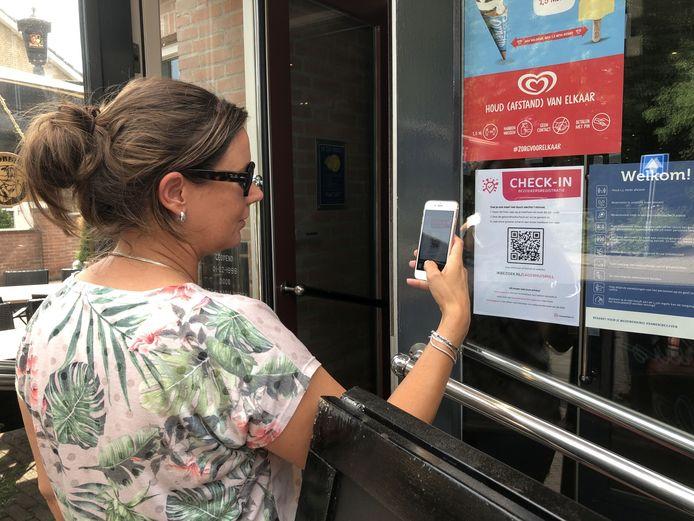 QR-code bedrijf WUX uit Cuijk van Bo Pennings uit Langenboom voor een beter registratie bij de horeca.