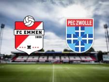 FC Emmen - PEC Zwolle
