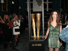 Gouden laarsjes uit Eindhoven voor 'wereldberoemde zangeres'