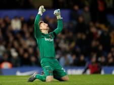 'Stokoude' debutant West Ham barst in tranen uit na stunt op Stamford Bridge