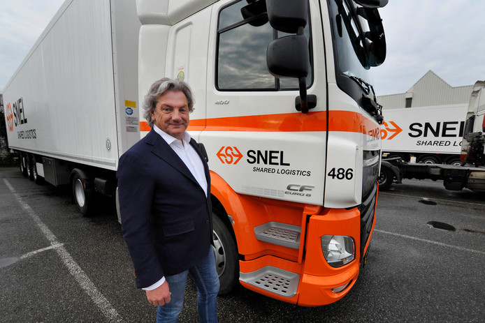 Directeur Peter de Vries van Snel Shared Logistics