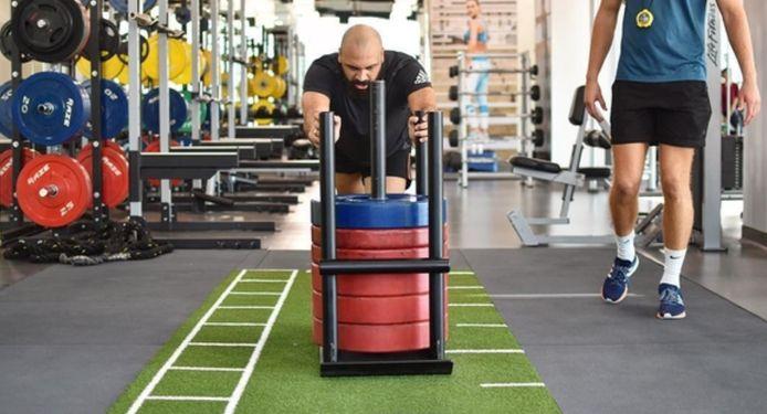 In Dubai trainde Vanden Borre bij ex-Anderlechtspeler Christian Wilhelmsson, die er een fitnessbedrijfje voor topsporters runt.