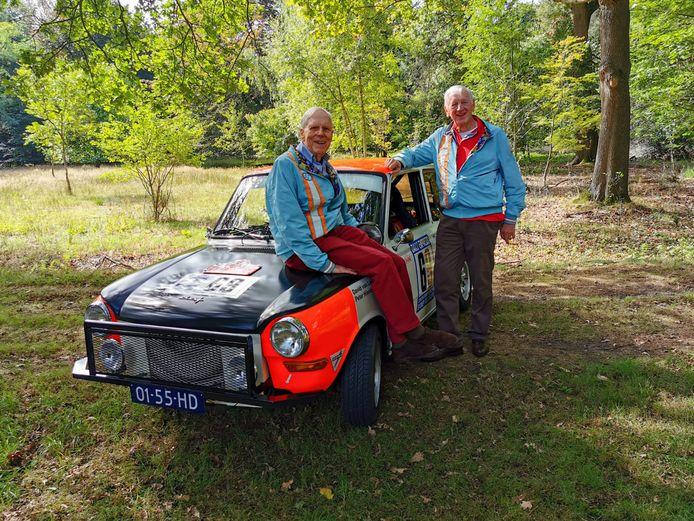 David van Lennep (links) en Peter Hissink.