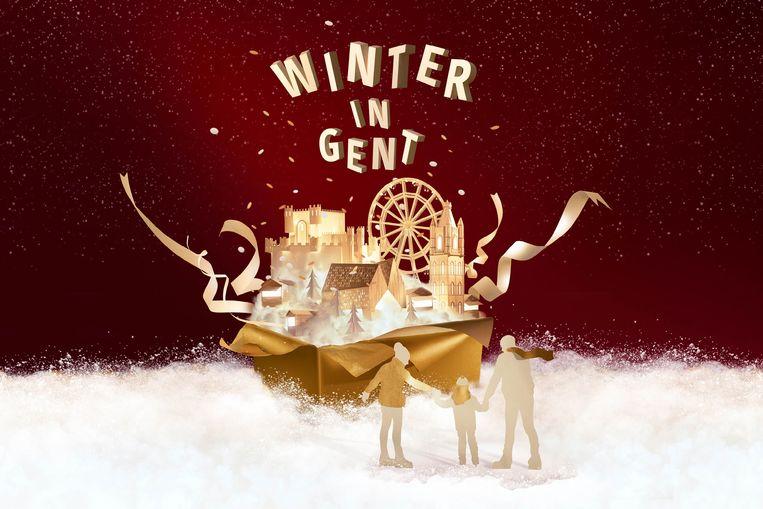 Het nieuwe campagnebeeld van de Gentse Winterfeesten.