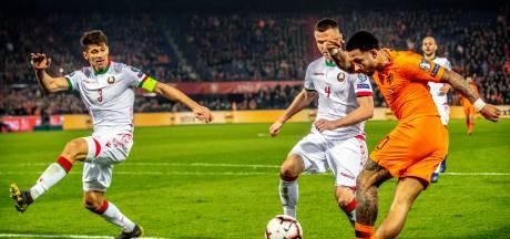 Uitblinker Memphis leidt Oranje naar ruime zege op Wit-Rusland