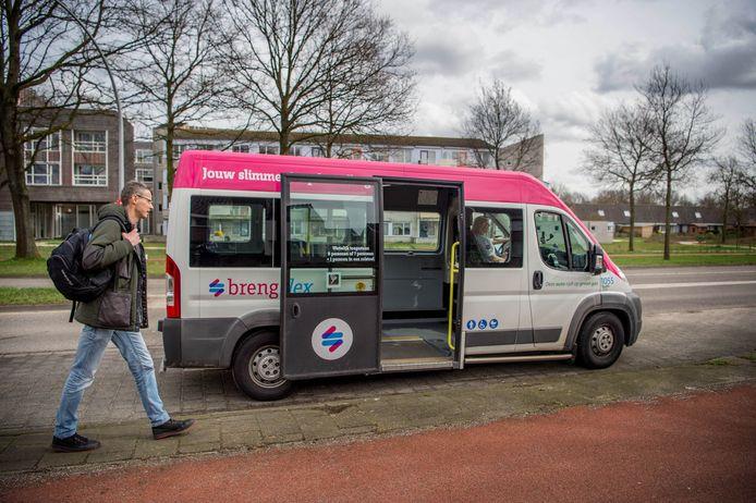 De BrengFlex-bus in Wijchen.