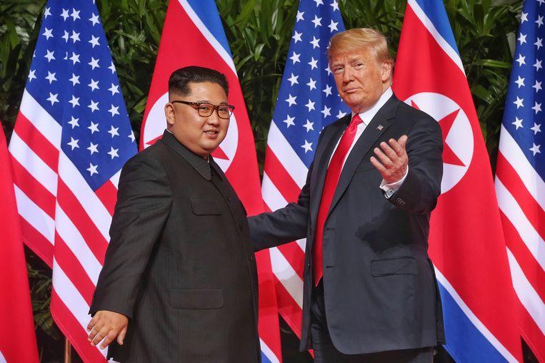 Kim Jong-un  Beeld null