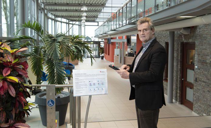 Burgemeester Rob Welten van Haaksbergen.