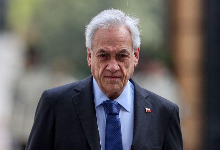 De Chileense president Sebastian Piñera.