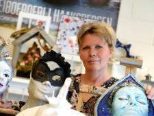 Haaksbergse kunstenaar gebruikt kunst als uitlaatklep in gevecht tegen kanker: 'Er bleek een oerkracht in me te zitten'