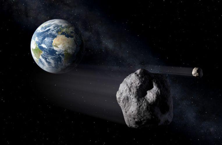 Ruimterots op ramkoers met aarde Beeld ESA/P. Carril