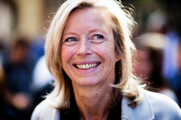 Kajsa Ollongren (D66), minister van Binnenlandse Zaken en Koninkrijksrelaties, die ook over wonen gaat.