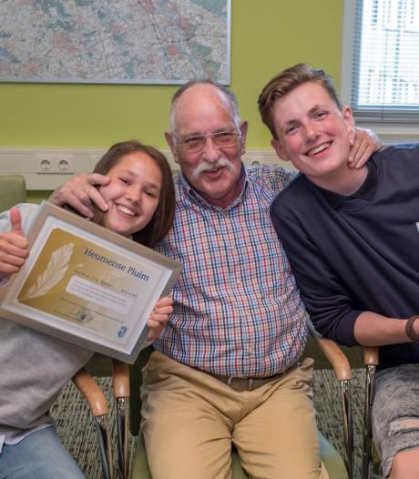 Tieners Sander en Lisa redden leven van Wiebe (76) uit Malden: 'Onvoorstelbare helden'
