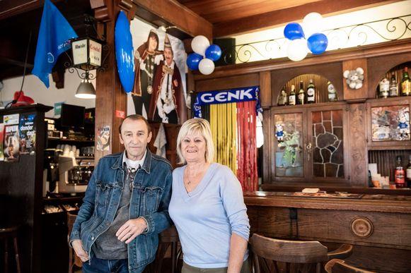 Luc Leroy en z'n vrouw Carine die café Meng in Genk uitbaten, hebben hun zaak al versierd.