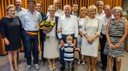 Wezemaal  Briljant voor Gaston Lauwers en Maria Hermans