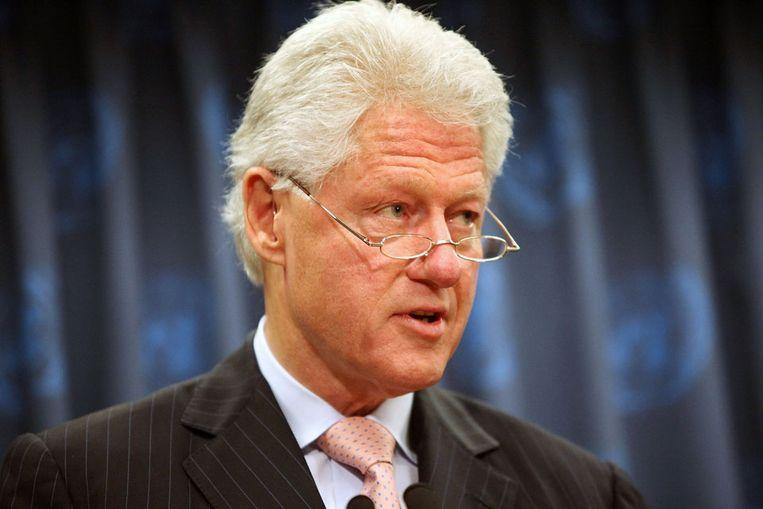 Bill Clinton (AFP) Beeld null