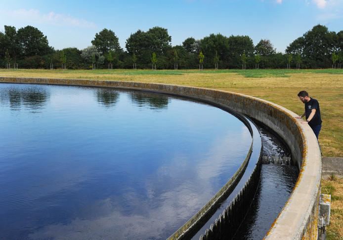 Rioolwaterzuiveringsinstallatie Walcheren in Ritthem