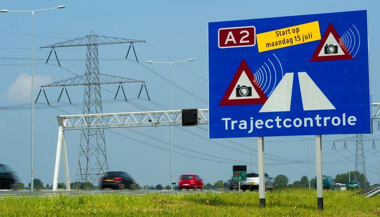 De A2 tussen Amsterdam en Utrecht. Beeld anp