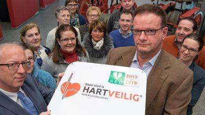 Rode Kruis erkent Oudenaarde als hartveilige stad