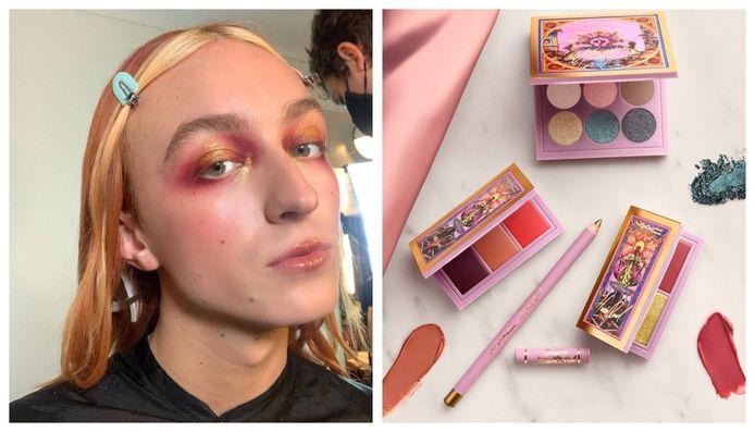 De eerste genderfluïde collectie van MAC Cosmetics kwam tot stand in samenwerking met mode-ontwerper Harris Reed.