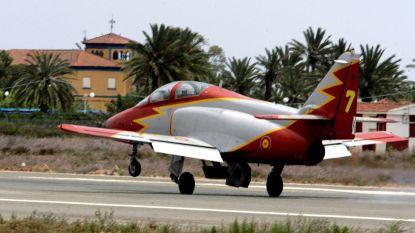 Twee doden bij crash legervliegtuig in Oost-Spanje