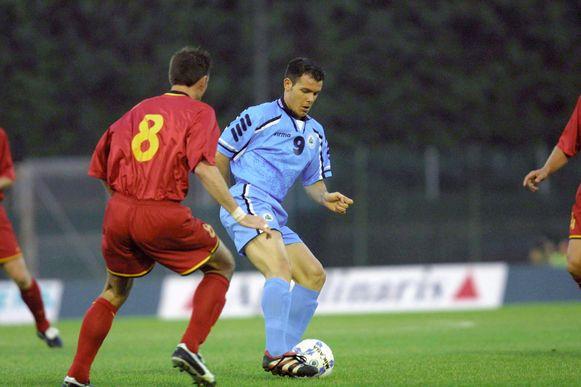 Andy Selva in 2001.