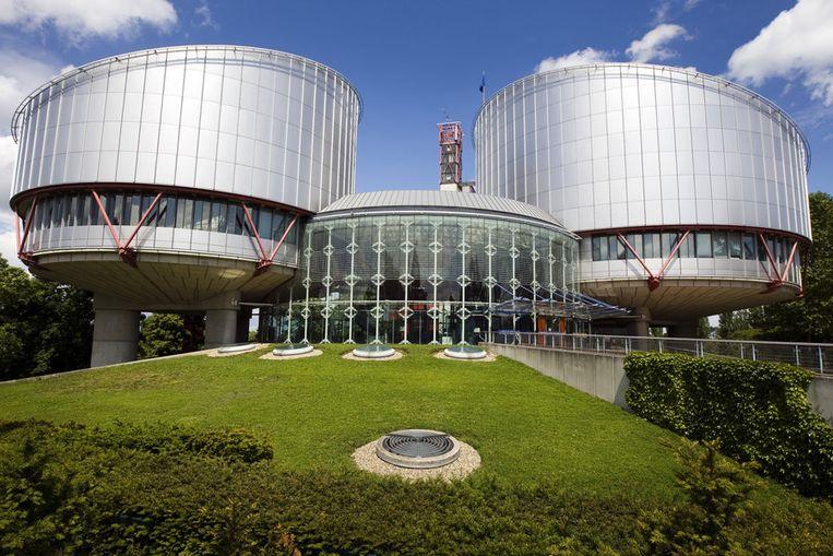 Europees Hof voor de Rechten van de Mens in Straatsburg. Beeld ANP