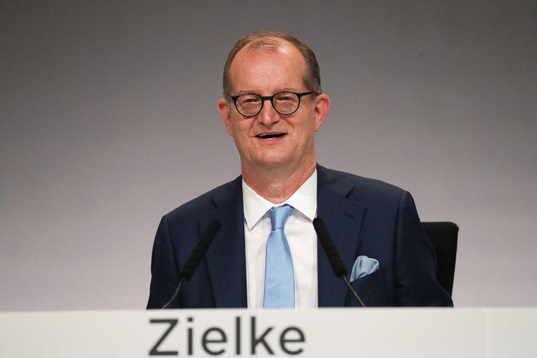 Commerzbank-topman Zielke.  Beeld null