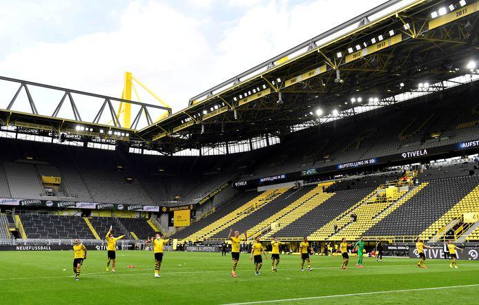 Alleen Borussia Dortmund won afgelopen weekend het thuisduel.