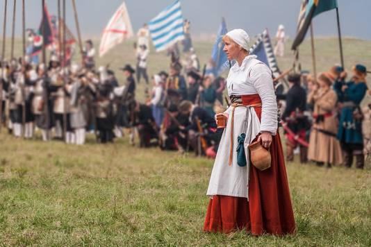 Marjolijn Houwer op de vorige Slag om Grolle,