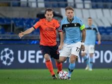 Goal en assist van Vormer, maar Club Brugge wint niet van Lazio en gaat Europa League in