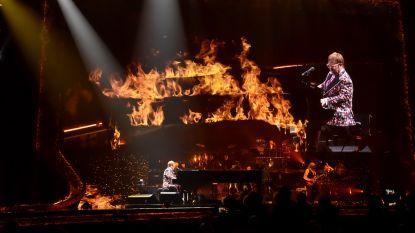 Zo trapt Elton John (71) zijn laatste tournee af