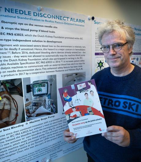 Holst Centre in Eindhoven bouwt dialyseapparaat voor op het nachtkastje van de nierpatiënt