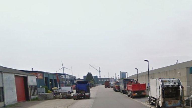 De Bolbaken in Zaandam, waar de brand heeft gewoed. Beeld Google Street View
