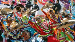 Wereldrecord volksdans gebroken in Mexico