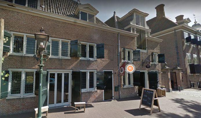 Het De Ruyterhuis in Hellevoetsluis.