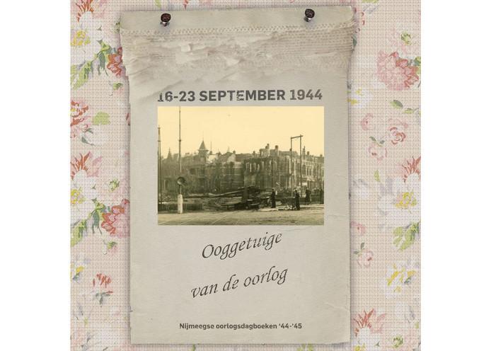 Duits 88 mm geschut op het Keizer Lodewijkplein. Op de achtergrond de verwoeste Mr. Franckenstraat, 21 september 1944.