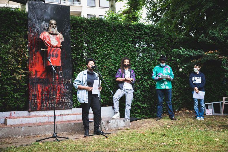Verschillende sprekers met Afrikaanse roots namen het woord.